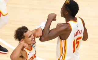 NBA: Dončičius šėlo Teksaso derbyje, Jokičius – Arizonoje, o Capela su Youngu – Minesotoje
