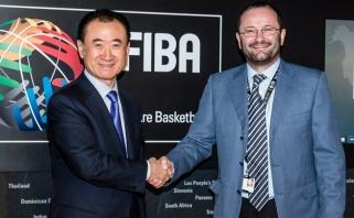 Kinų konglomeratas tapo FIBA ekskliuzyviniu partneriu iki 2033 metų
