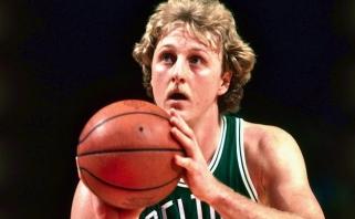 """""""Celtics"""" legenda L.Birdas švenčia 60-metį"""