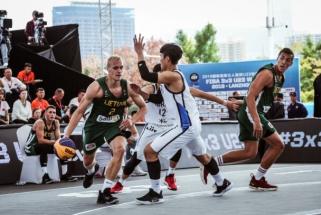 Lietuvos jaunimo 3x3 rinktinė baigė pasirodymą pasaulio čempionate Kinijoje
