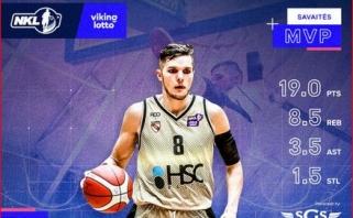 Paskutinis NKL reguliariojo sezono MVP – Kumpys, penketuke – ir Darjušas