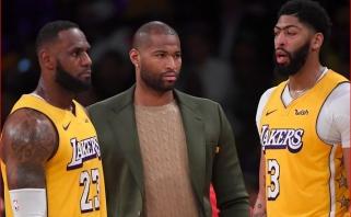 """Cousinsas gali grįžti į """"Lakers"""""""