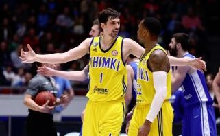 """""""Chimki"""" pateko į VTB lygos finalą ir Eurolygą; vėl pasižymėjo A.Švedas"""