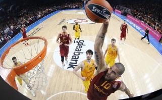 """Netikėtumas Stambule: """"Galatasaray"""" užtikrintai įveikė """"Barceloną"""" (video)"""