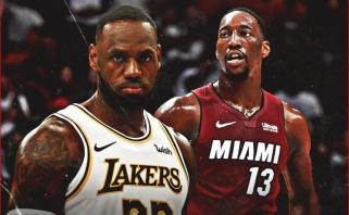 B.Adebayo ir L.Jamesas - NBA savaitės MVP