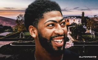 """""""Lakers"""" žvaigždė A.Davisas parduoda savo ištaigingus rūmus Los Andželo priemiestyje"""