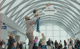 """K.Bryantas nusifilmavo """"Aeroflot"""" reklamoje"""