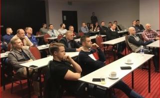 Kaune vyko LKL trenerių ir teisėjų susitikimas