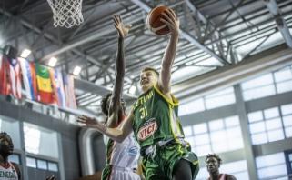 Mače prieš Senegalą išsiskyręs žalgirietis: jie aukštesni ir fiziškai stipresni, bet užsiauginome sparnus