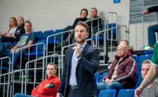 """Naujo trenerio vedama """"Šilutė"""" taikysis į NKL finalo ketvertą"""