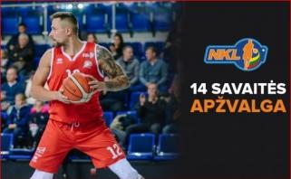 NKL apžvalga: netikėtas D.Griškėno debiutas trenerio rolėje ir pakartotas sezono rekordas ir kita