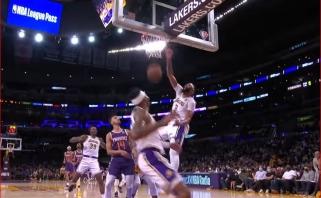 """""""Lakers"""" žvaigždės Daviso dėjimas – įspūdingiausias NBA momentas (rezultatai)"""