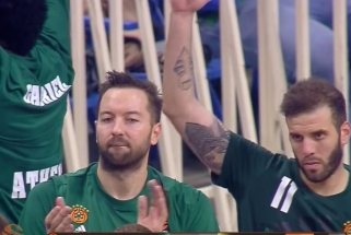 """L.Lekavičius pasirodė labai prastai, bet """"Panathinaikos"""" sutriuškino """"Chimki"""""""