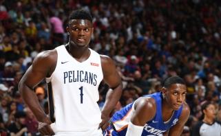 NBA pirmasis šaukimas praleis likusias Las Vegaso lygos rungtynes