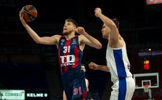 R.Giedraitis buvo vienas pergalės prieš CSKA kalvių