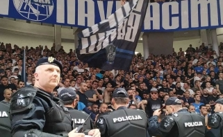"Dėl įvykių Juodkalnijoje ""Crvena Zvezda"" neišvyko į rungtynes su ""Budučnost"""