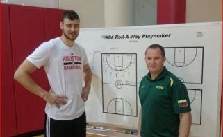 Geriausias kandidatas? Ypatingas K.Maksvyčio ryšys su geriausiais Lietuvos krepšininkais