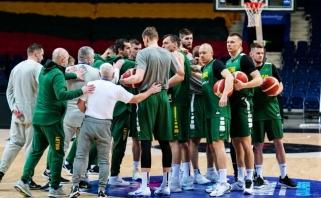 Lietuvos rinktinė pradėjo treniruotis: bandysime viską pakeisti, kad staigmenų nebūtų