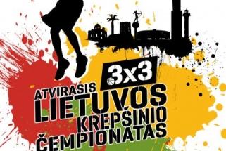 Startuoja atvirasis Lietuvos 3×3 krepšinio čempionatas