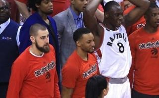 """B.Biyombo pasinaudojo proga nutraukti sutartį su """"Raptors"""""""
