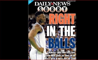 """""""Knicks"""" gavo solidžią baudą už tai, kad į spaudos konferenciją neįleido akredituoto leidinio atstovų"""