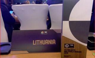 Lietuvos krepšiniui – įvertinamas iš FIBA