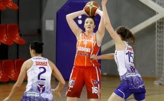 Viena geriausių Lietuvos krepšininkių  I.Šalkauskė karjerą tęs gimtuosiuose Šiauliuose