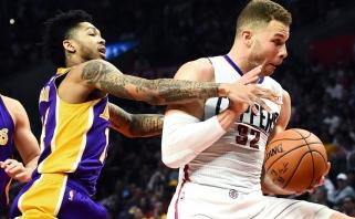 """NBA: Los Andželo mūšį laimėjoi """"Clippers"""", drama Čikagoje ir reta šventė Brukline"""