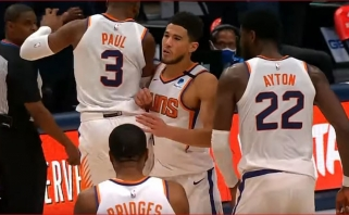 Pergalingas Bookerio šūvis, Poeltlo blokas ir Foxo verpstė – gražiausi NBA momentai