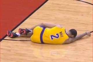 """""""Lakers"""" persekioja traumos - iš rikiuotės iškrito ir pagrindinis įžaidėjas L.Ballas"""