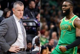 """""""Celtics"""" žvaigždė J.Brownas: kai buvau 17-os, B.Donovanas pasakė, kad NBA užtruksiu 3 metus"""