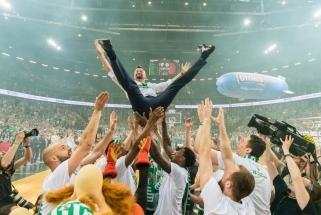 """""""Lietuvos ryto"""" gretose LKL finalą pralaimėjęs Šaras šventė su žalgiriečiais"""