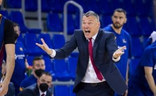 """Jasikevičius paaiškino nesėkmę """"El Clasico"""": """"Real"""" išėjo į aikštę """"mirti"""", o mes – žaisti"""