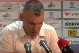 Jasikevičius gyrė Udrihą, Kurtinaitis apgailestavo dėl auklėtinių meistriškumo
