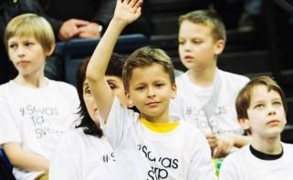 #SavasTarpSvetimų: projekto dalyvius suvienijo krepšinis