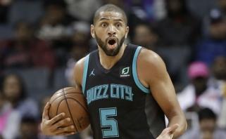 Pasaulio čempionato bronzos laimėtojas susilaužė pirštą pirmajame NBA sezono mače
