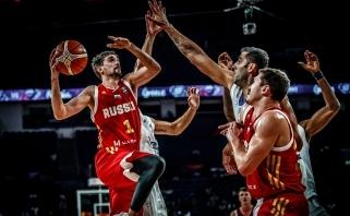 Permainingose rungtynėse Rusija pranoko Lietuvos skriaudikus ir žengė į pusfinalį