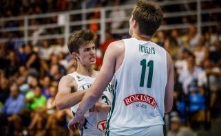 Lietuviai per pratęsimą nusileido graikams ir Europos čempionate liks be medalių