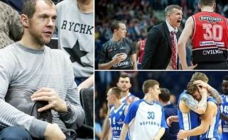 """R.Šiškauskas apie """"Lietuvos ryto"""" žaidimėlius: tokios komandos visada nudega"""