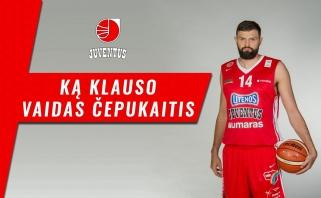 V. Čepukaičiui užteko 22 minučių, kad taptų LKL savaitės MVP