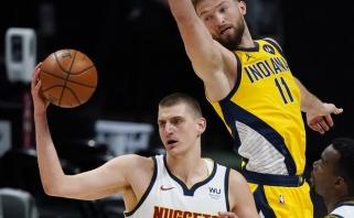 Jokičius pakilo į pirmą vietą kovoje dėl MVP oficialiame NBA reitinge