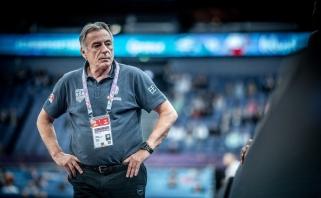 K.Missas paliko Graikijos rinktinės trenerio postą