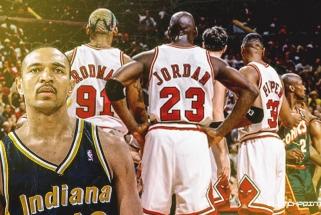 """Buvęs """"Pacers"""" įžaidėjas M.Jacksonas: 1998 metais turėjome įveikti """"Bulls"""""""