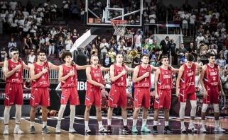 Vien lietuviams pralaimėję serbai triumfavo EČ, rusai apmaudžiai paleido bronzą
