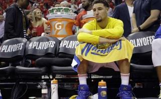 """Baisiausias scenarijus pasitvirtino: """"Warriors"""" žvaigždė praleis antrą sezoną paeiliui"""