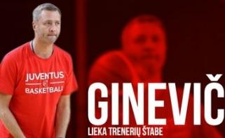 """V.Ginevičius lieka """"Juventus"""""""
