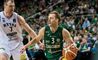 """N.Woltersas palieka """"Žalgirį"""": sukirto rankomis su """"Maccabi"""""""