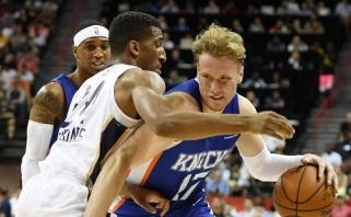 """""""Knicks"""" susiejo ateitį su Lietuvoje gimusiu ir Kanadoje užaugusiu I.Brazdeikiu"""