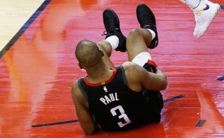 """Skaudi """"Rockets"""" netektis: Ch.Paulas tikrai nežais šeštose serijos rungtynėse"""