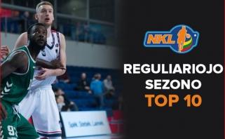 NKL reguliariojo sezono puošmena - gražiausių epizodų Top 10